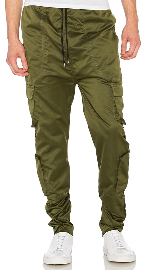 I Love Ugly Zespy Militia Pant in Army