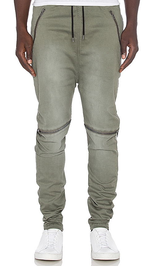 I Love Ugly Jet Zespy Pant in Army