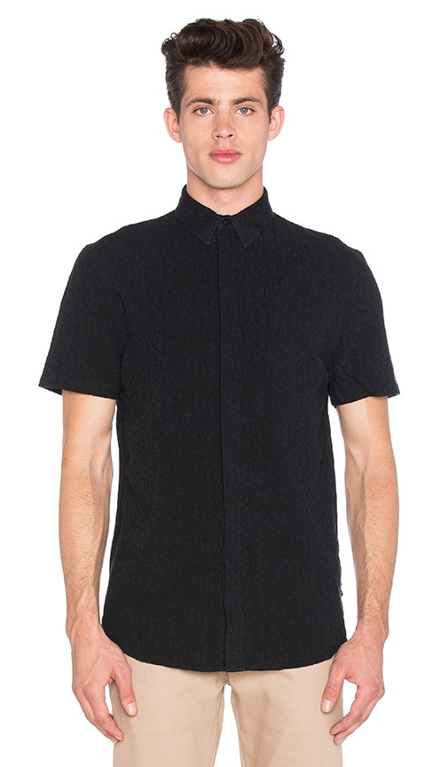 I Love Ugly SS Fracture Shirt in Black