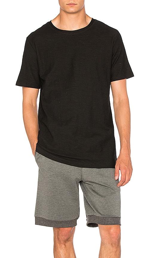 I Love Ugly Linen T Shirt in Black