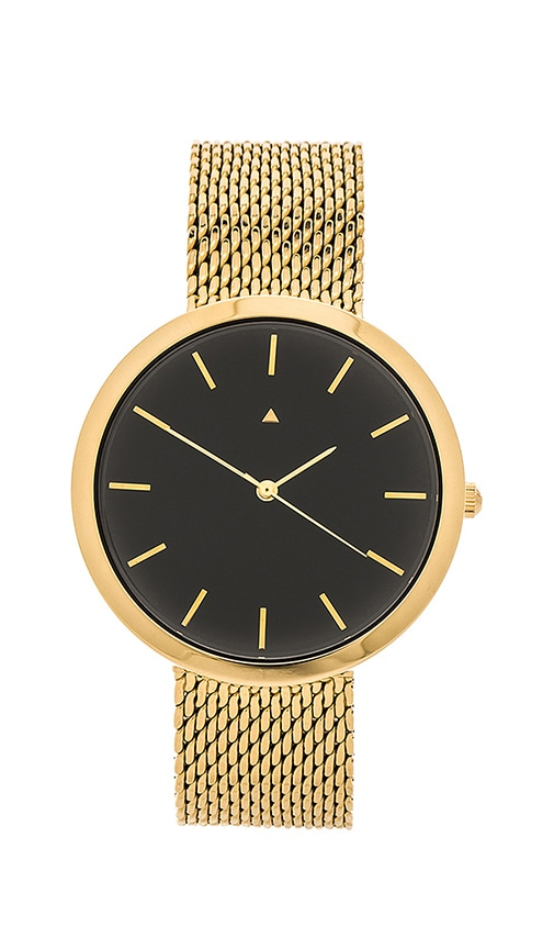 I Love Ugly Archibald Watch in Metallic Gold