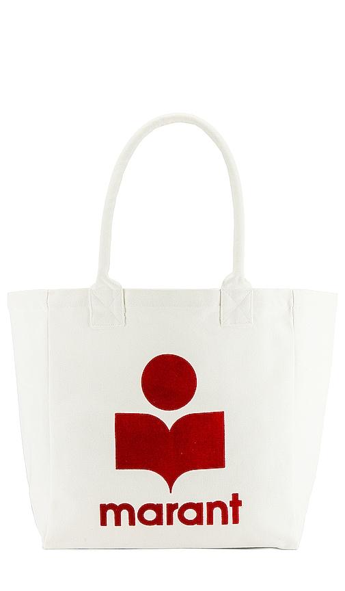 Isabel Marant Yenky Tote Bag In Ecru