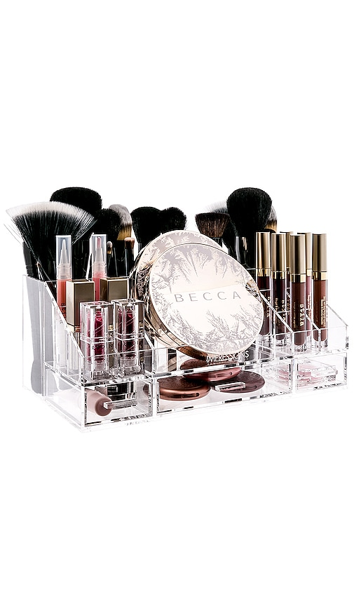 Brush and Makeup Organizer Tray