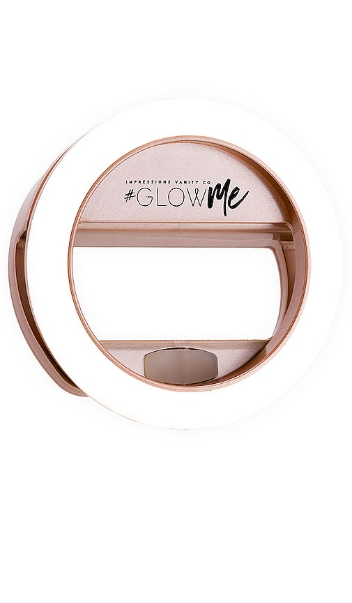 GlowMe 2.0 USB Rechargeable LED Selfie Ring Light