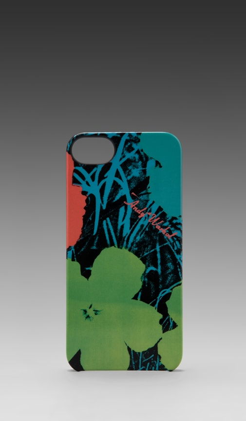 Andy Warhol Flowers iPhone 5 Snap Case