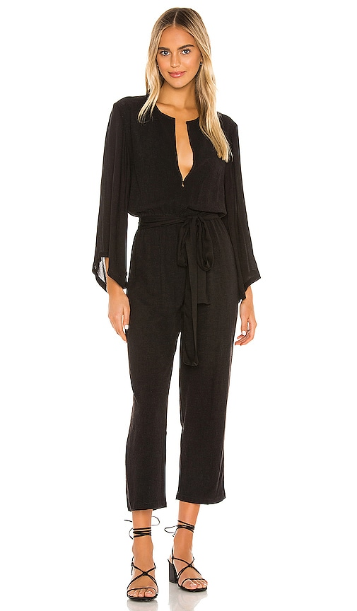 70s Jumpsuit | Disco Jumpsuits, Sequin Rompers Indah Mazie 70s Jumpsuit in Black. - size XS also in LMS $194.00 AT vintagedancer.com