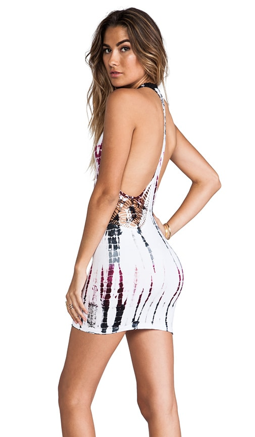 Fleet Cut Away Mini Dress