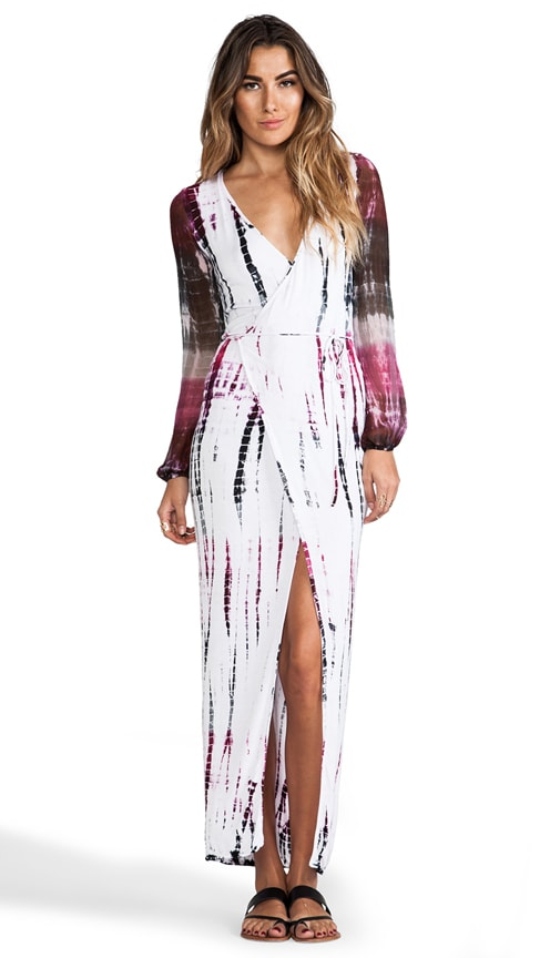 Lombard Wrap Maxi Dress