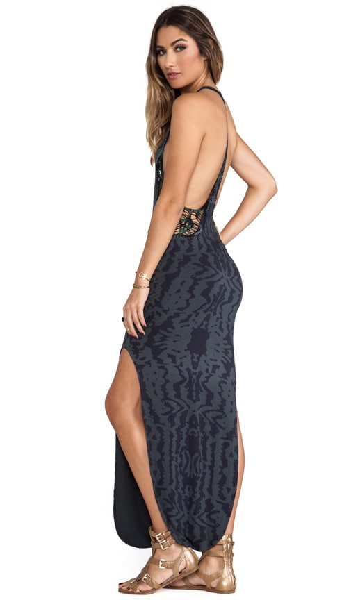 Atlantic Cut Away Maxi Dress