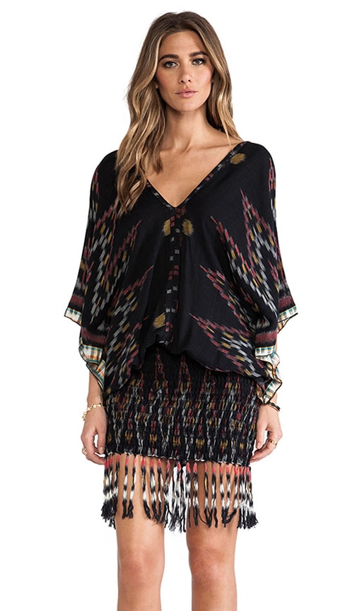 Bayan Fringed Mini Dress