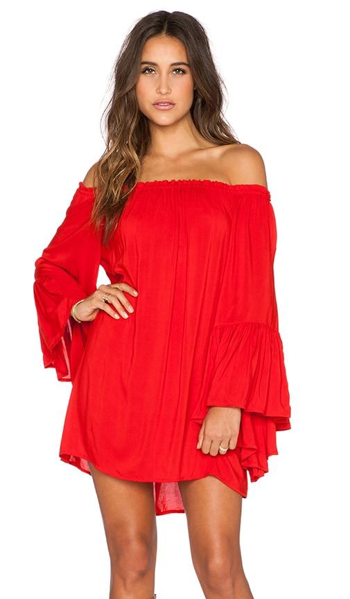 Kamani Off the Shoulder Mini Dress