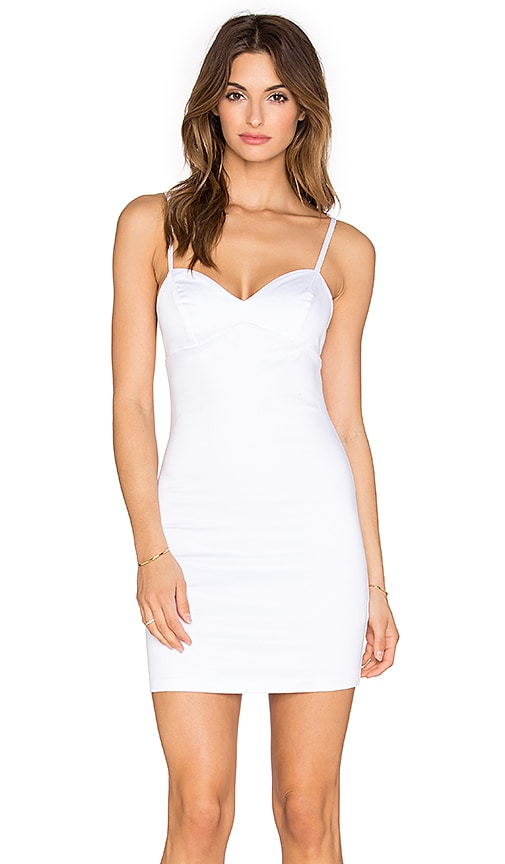 Indah Eve Bodycon Mini Dress in White