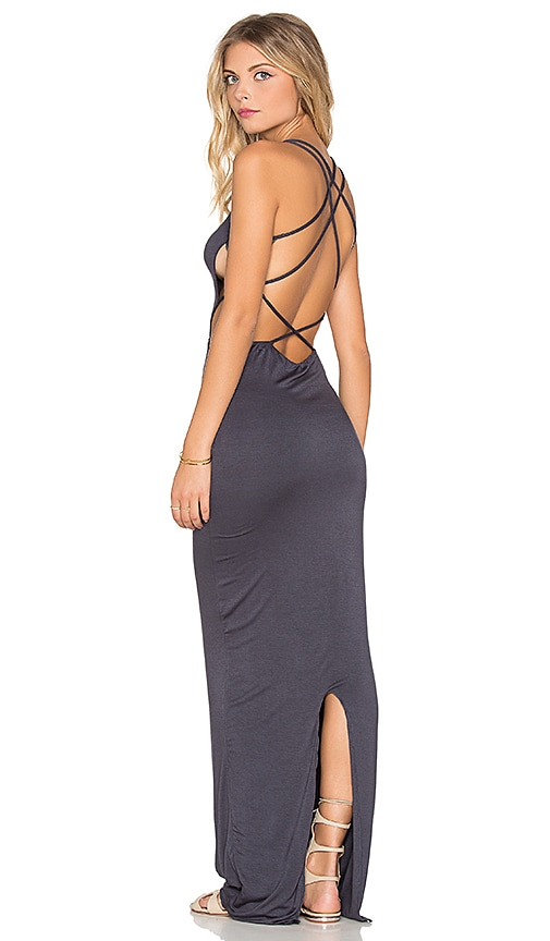 Indah Tamaa Maxi Dress in Slate