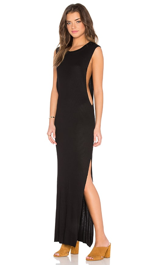 Indah Jimmy Maxi Dress in Black