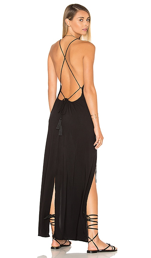 Indah Spark Maxi Dress in Black