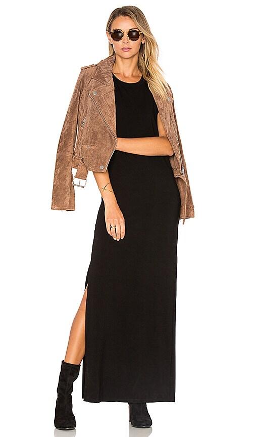 Indah Croissant Dress in Black
