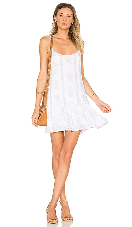 Indah Juniper Mini Dress in White