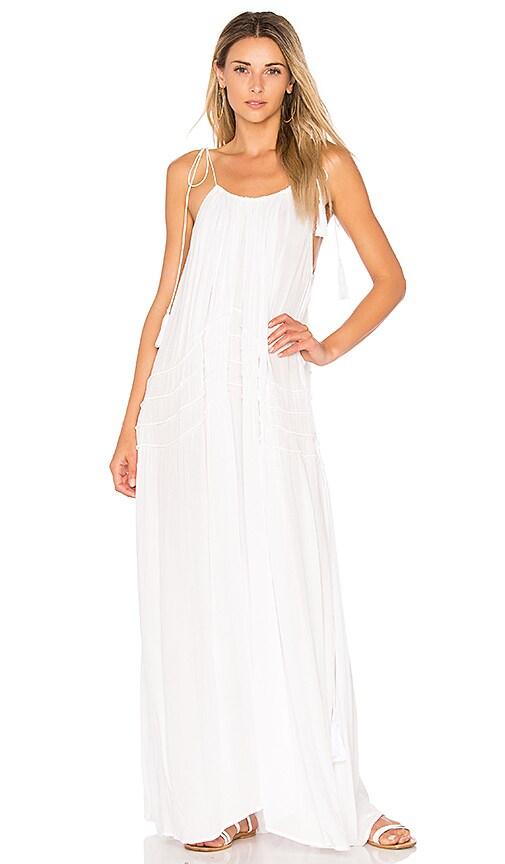 Indah Bellmer Dress in White