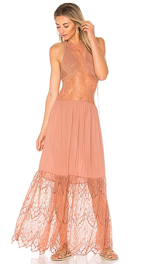22eb24e3 Spell Angelica Halter Gown At Free People Clothing Boutique | 2019 trends |  xoosha
