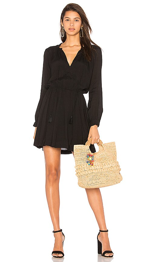 Indah Ziggy Dress in Black