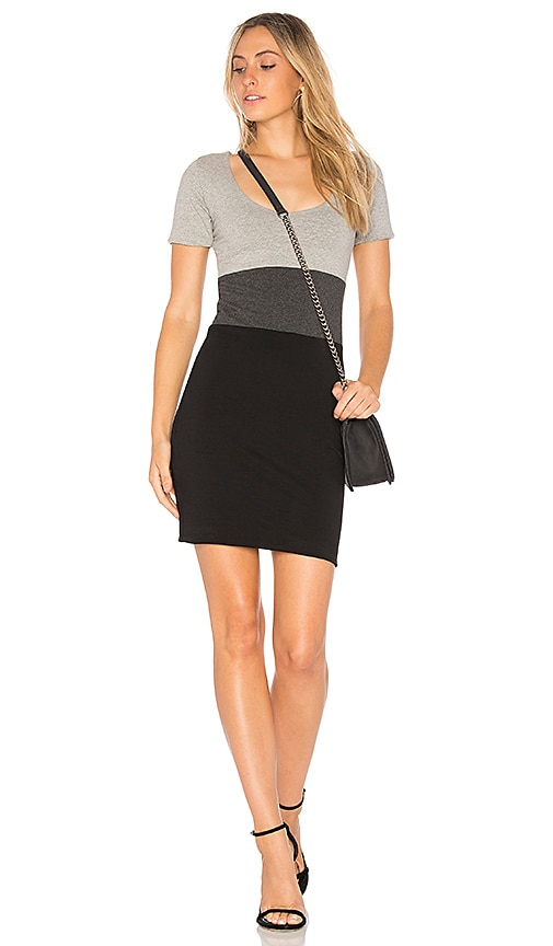 Indah Pepper Dress in Gray