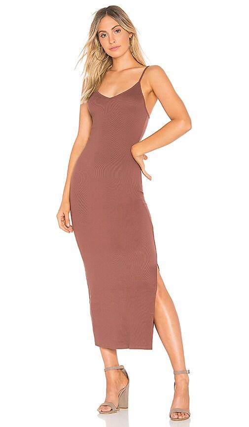 Indah Licorice Dress in Mauve