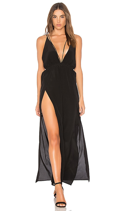 Indah Palladium Maxi Dress in Black