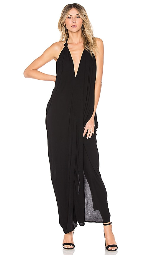 Indah Nammos Maxi Dress in Black