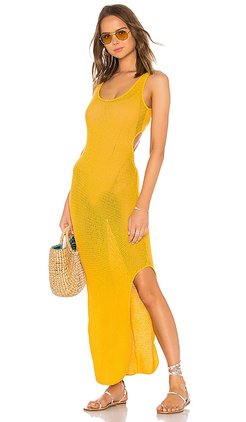 Indah Sha Na Na Maxi Dress in Yellow