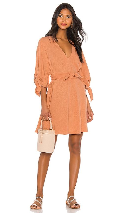 Kara Knot Sleeve Tunic Dress