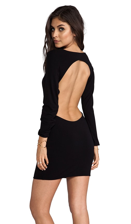 Vida Open Back Day to Night Mini Dress