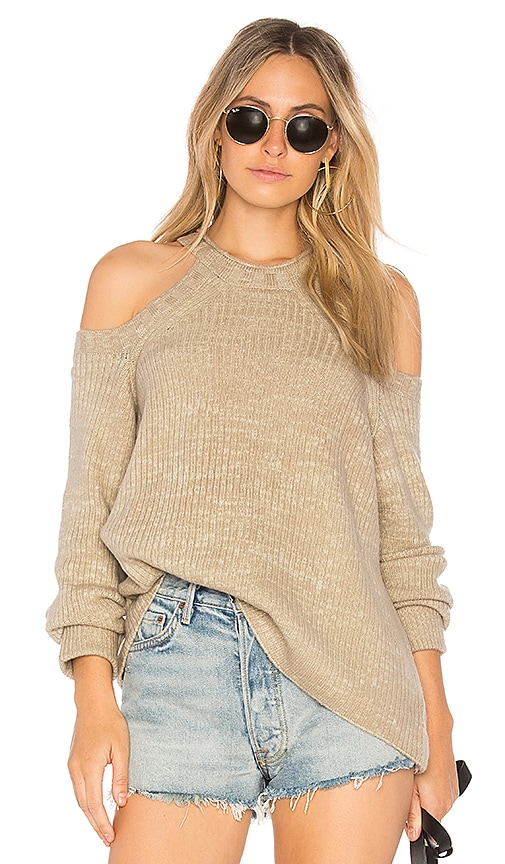 Indah Ambrosia Sweater in Beige