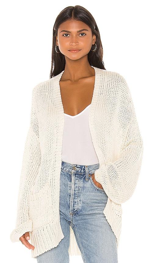 Cayenne Solid Oversized Cardigan