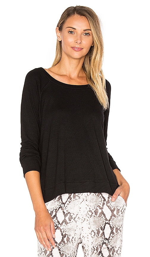 Indah Taffy Sweatshirt in Black