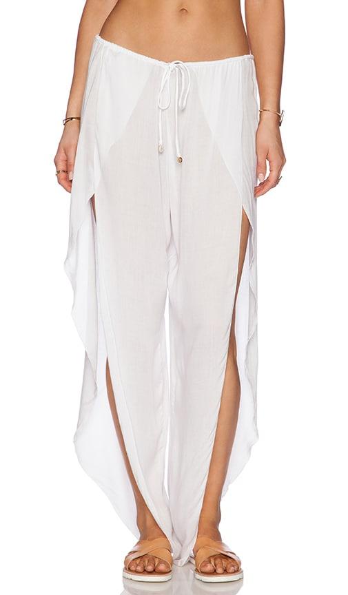 Indah Val Pant in White
