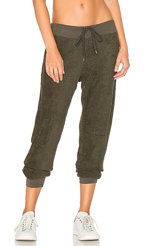 Indah Popcorn Sweatpant in Green