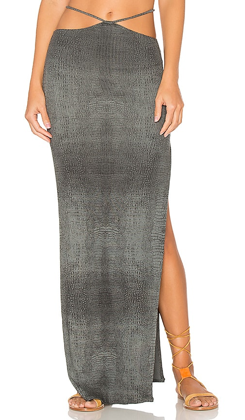 Indah Gigi Maxi Skirt in Gray