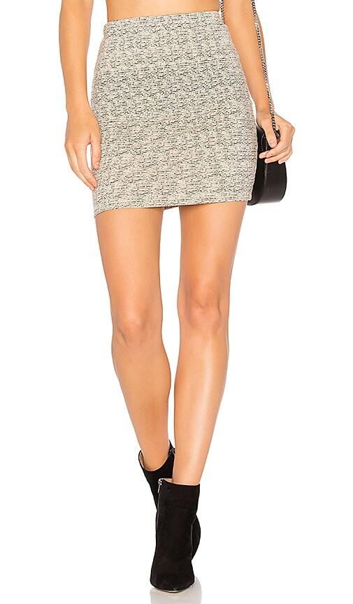 Indah Molten Skirt in Beige