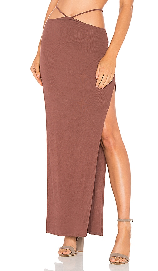 Indah Gigi Skirt in Mauve