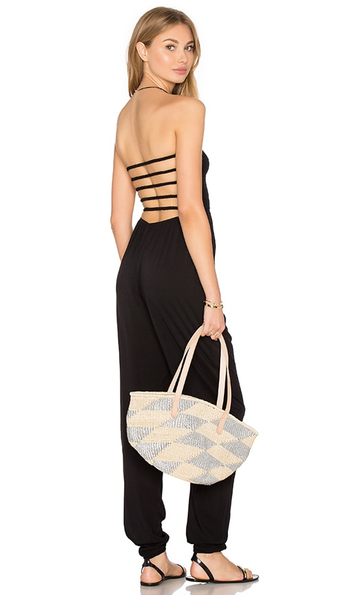 Java Strapless Jumpsuit