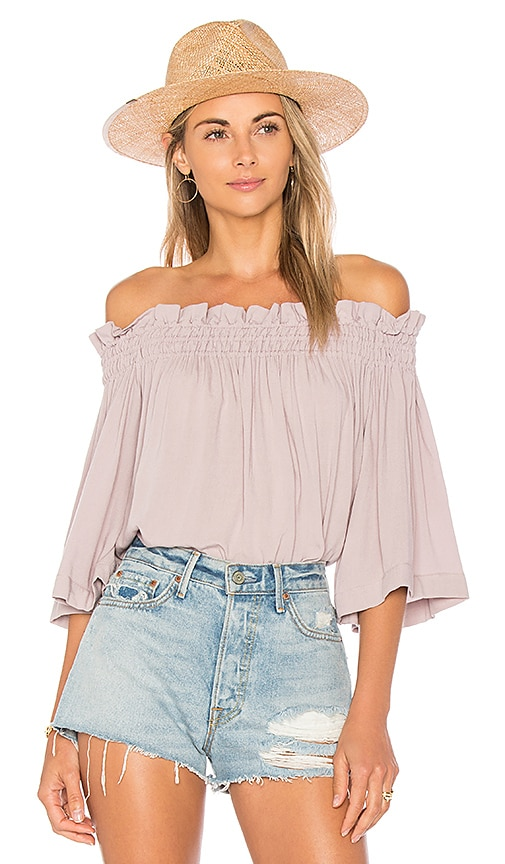Indah Harper Top in Lavender
