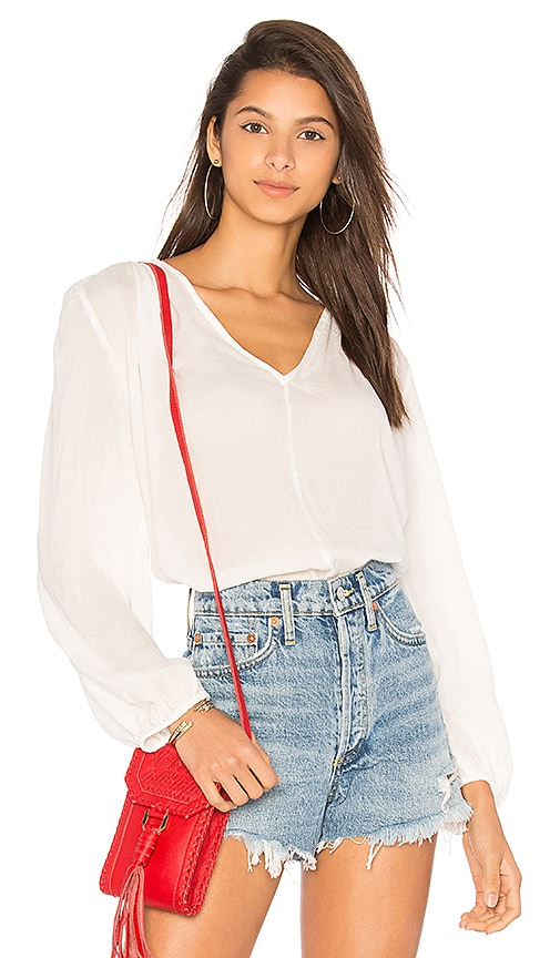Indah Avery Top in Ivory