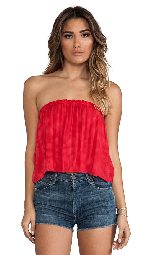 Star Strapless Tube Top