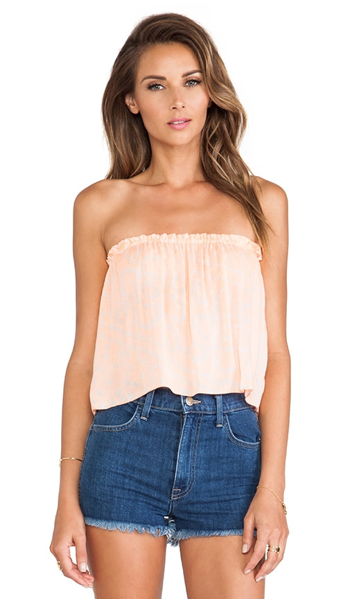 X REVOLVE Star Strapless Tube Top