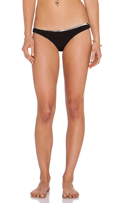 Indah Reversible Libre Bikini Bottom in Black/Jag
