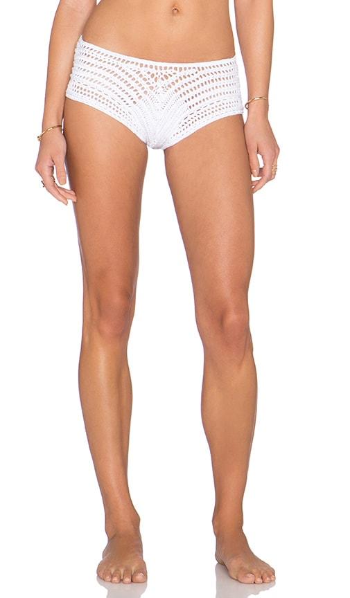 Indah Courage Bikini Bottom in White