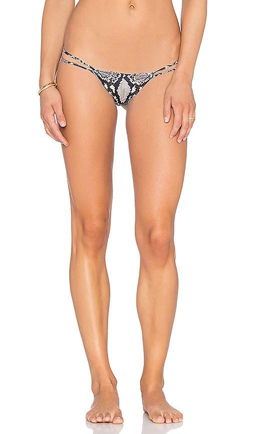 Maresol Printed Pinch Bum String Bikini Bottom