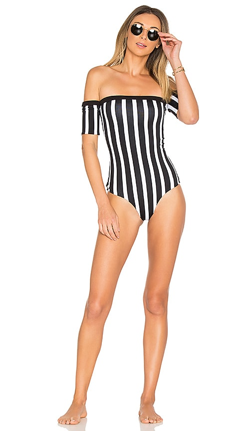 Indah Repeat One Piece in Black & White