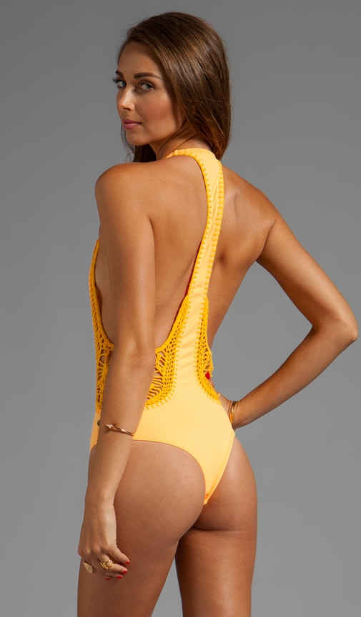 Pagoda Crochet MC One Piece