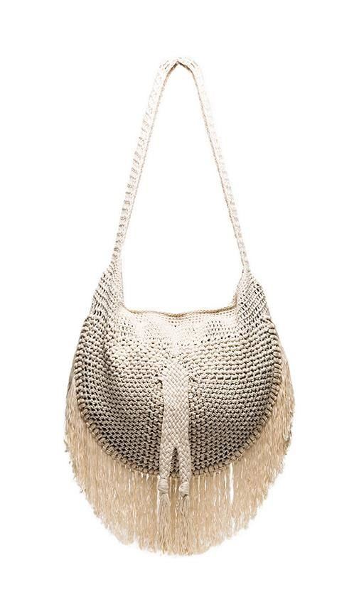 Sesame Fringe Shoulder Bag